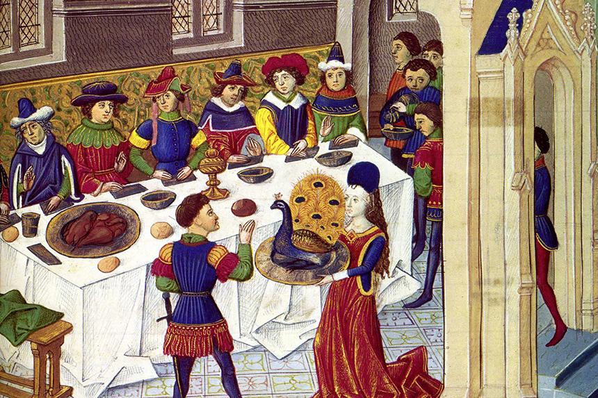 Citaten Uit De Middeleeuwen : Diners eetverleden