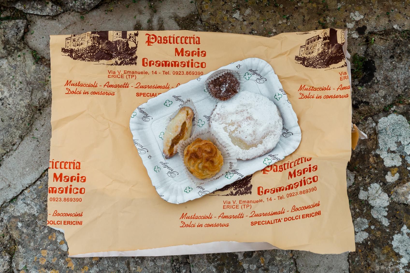 Koekjes van Pasticceria Maria Grammatico in Erice