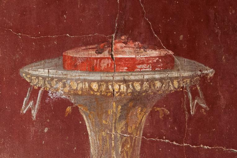 Frescotaart uit Villa di Oplonti