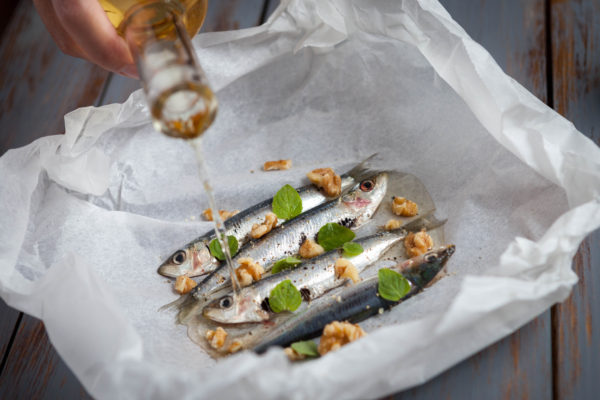 Romeinse sardine met garum