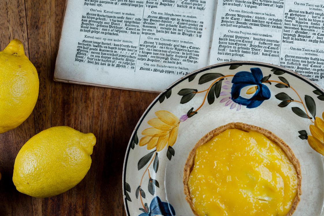 Citroentaart uit de verstandige kok