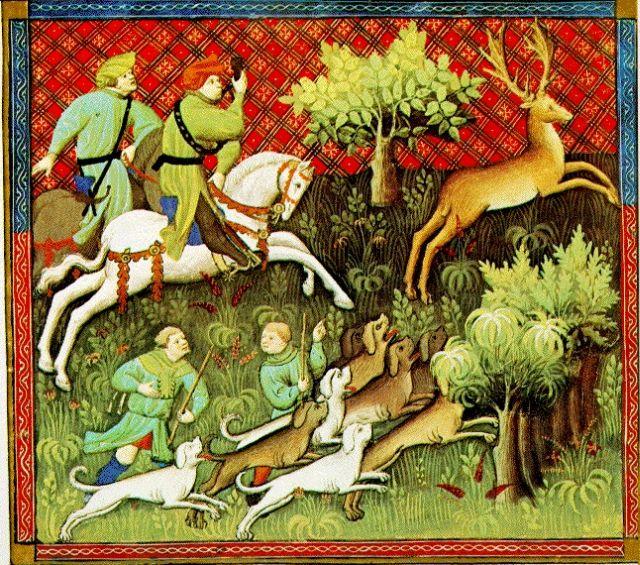 Medieval hunting