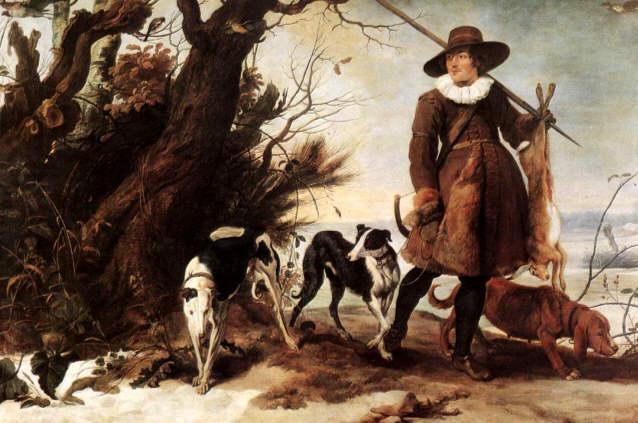 jacht in de 17e eeuw
