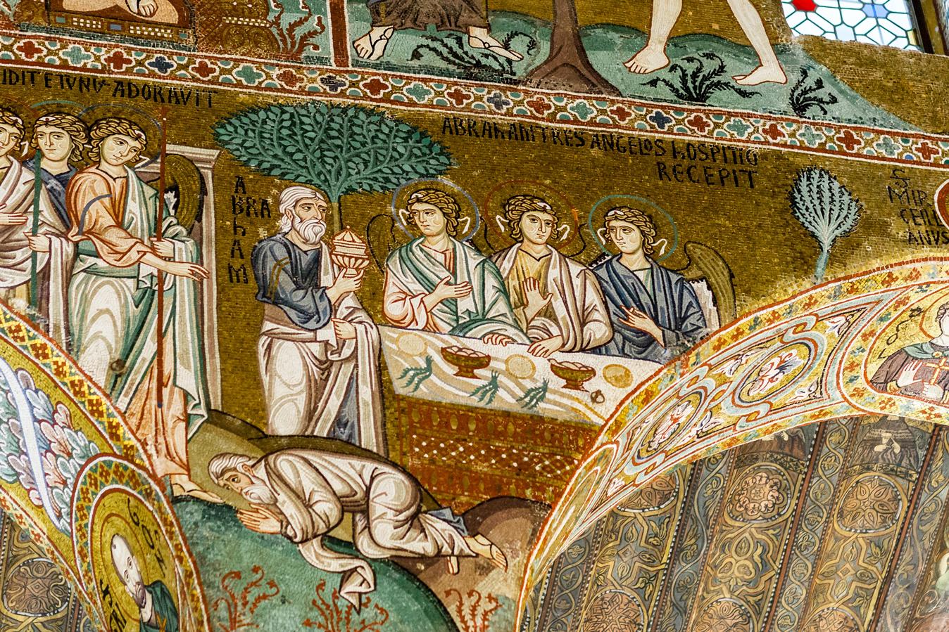 Mozaiek in klooster van Monreale