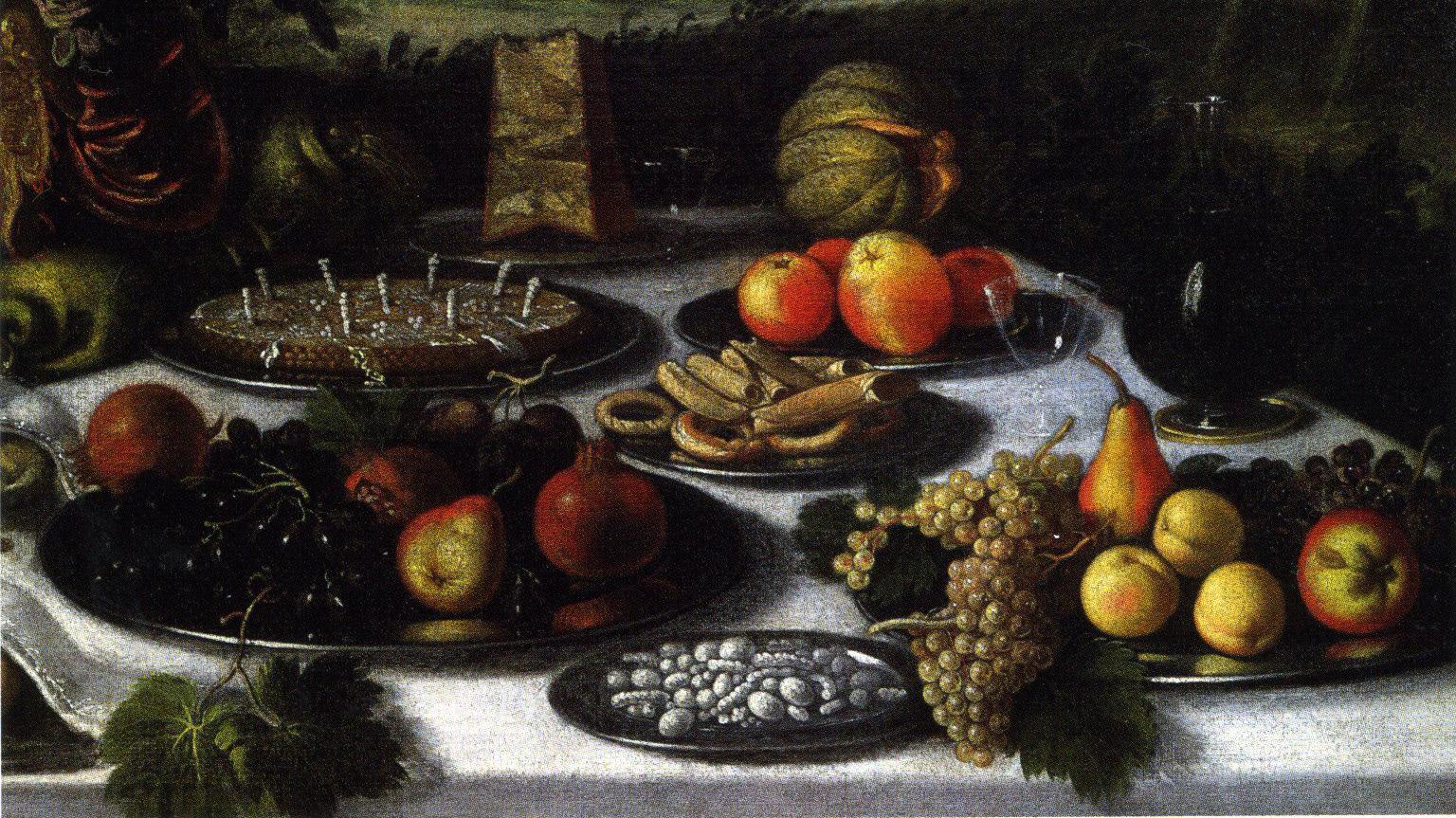 Fruit en zoetigheid als dessert
