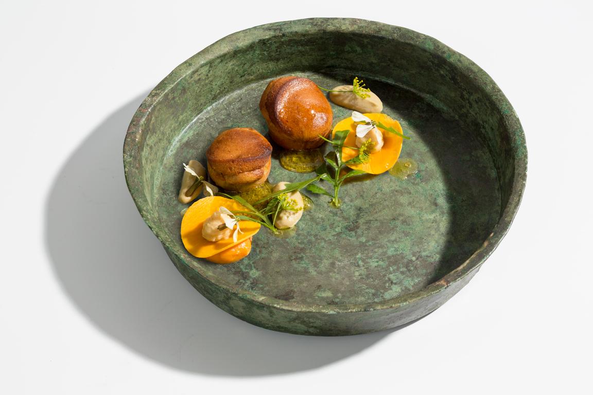 Lime - olijfcake - pompoen