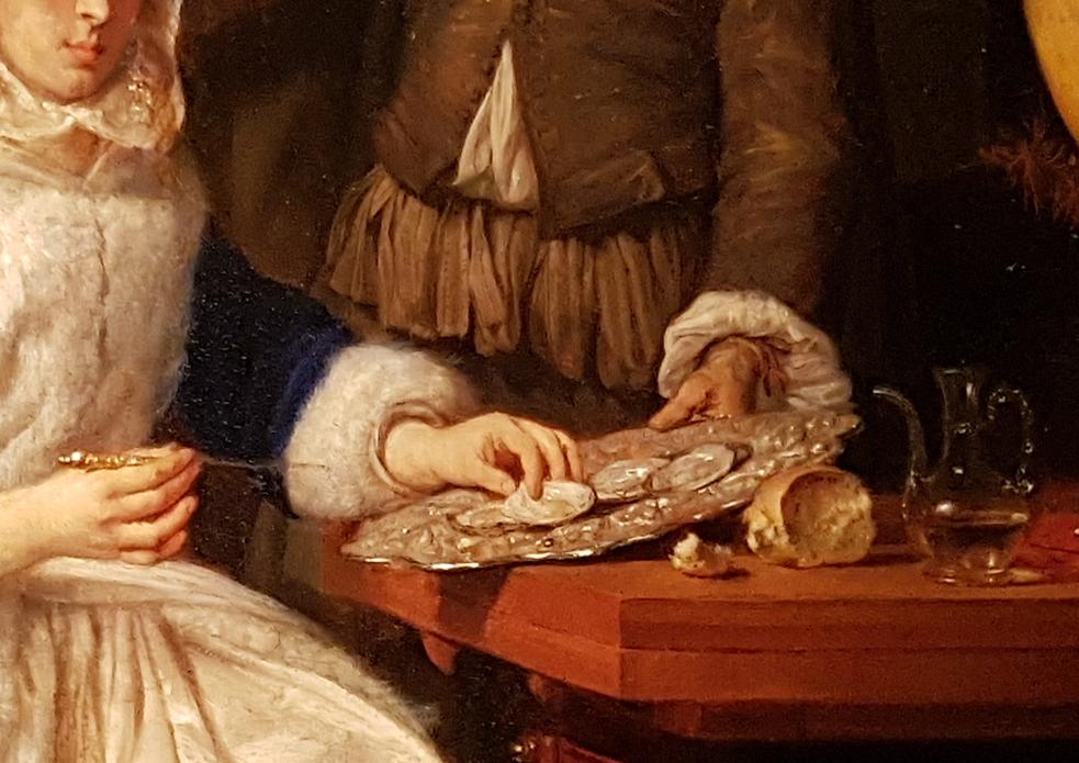 Gabriel Metsu_De oestermaaltijd 1660