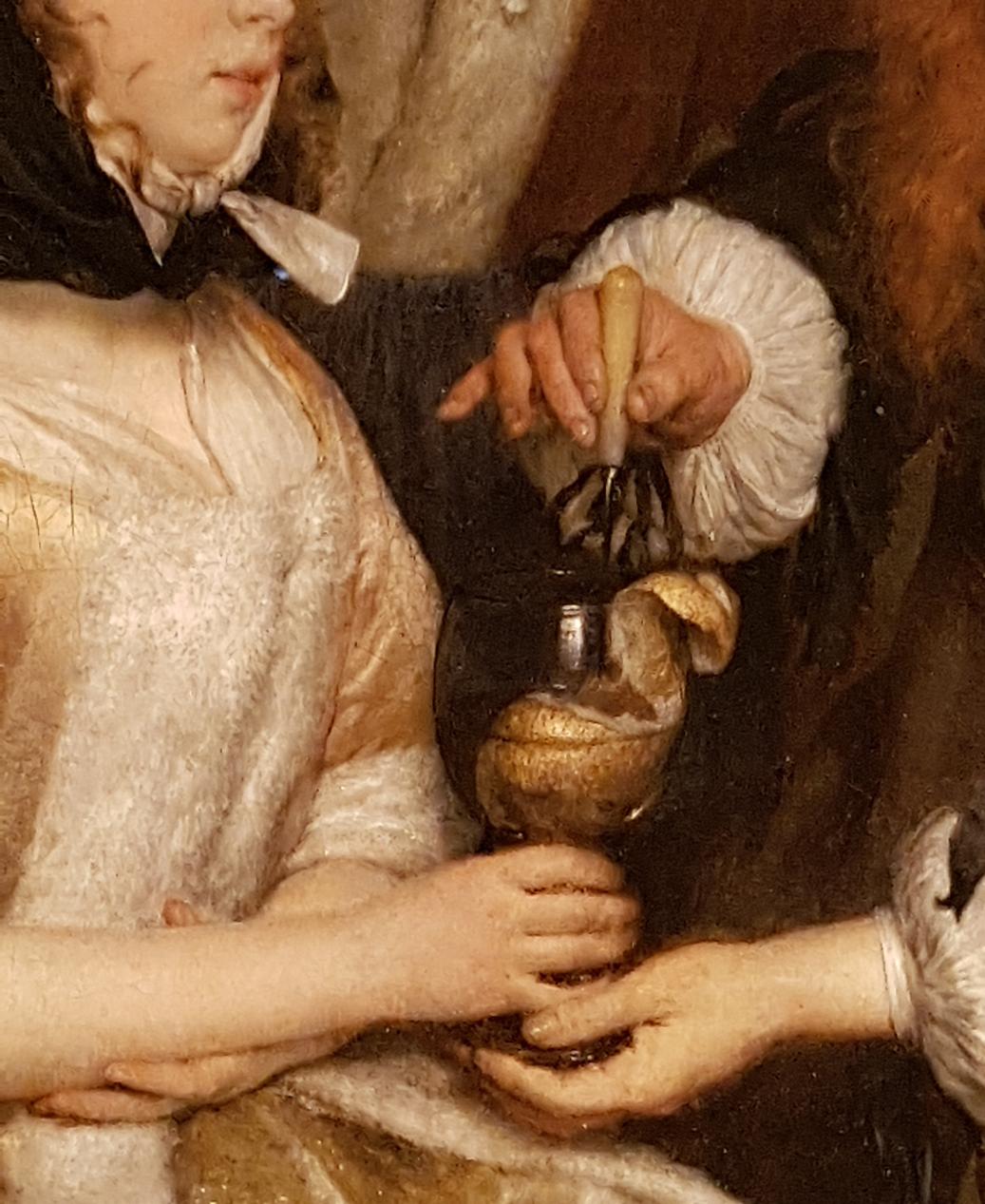Gerard ter Borch_Een glas limonade 1663