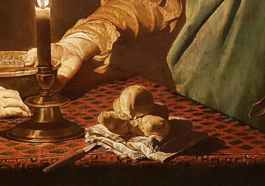 Matthias Stom_Esau verkoopt zijn eerstgeboorterecht aan Jakob 1640