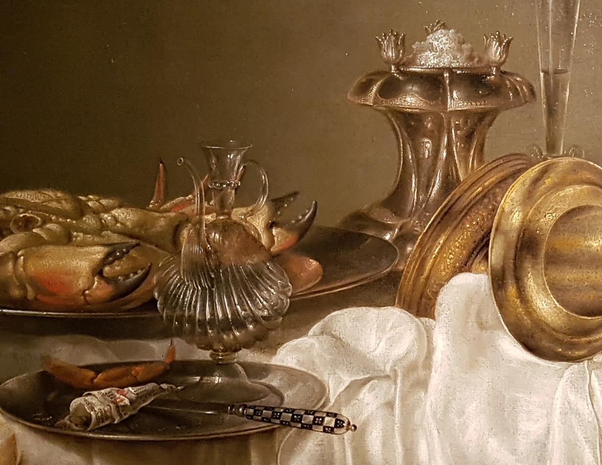 Willem Claesz Heda_Ontbijt met krab 1648