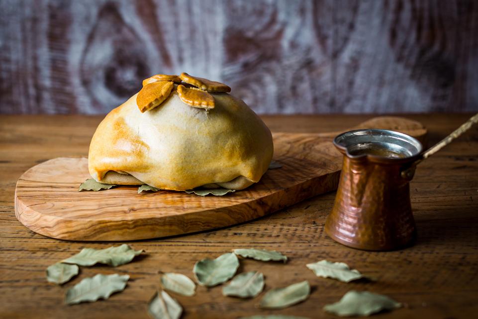 Ham in deegkorst van Apicius