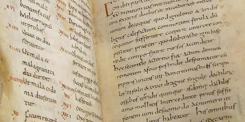 Apicius Handschrift uit New York Academy of Medicine