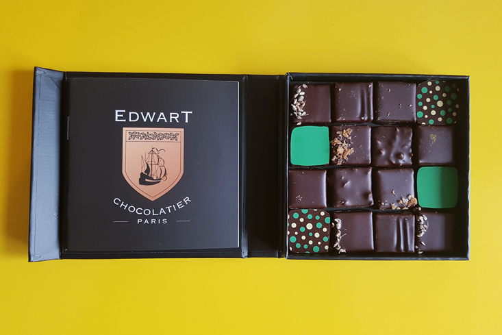 Assortiment bonbons van Edwart Chocolatier