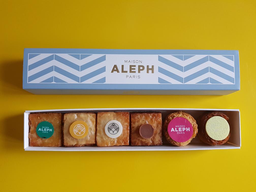 Verfijnde gebakjes van Maison Aleph