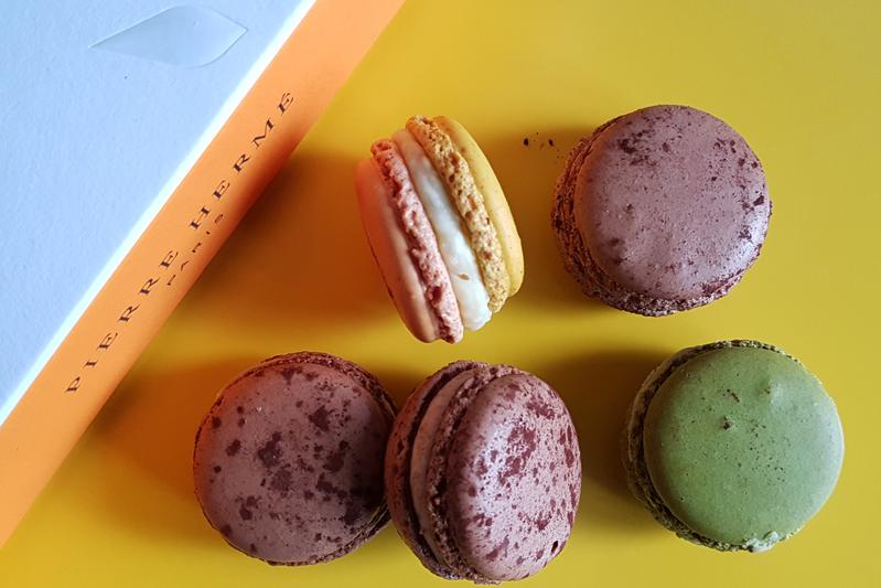 Macarons van Pierre Hermé
