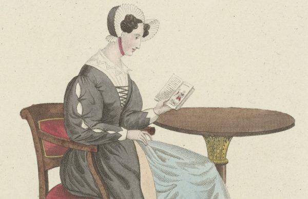 Lezende vrouw_Carl Cristiaan Fuchs 1802-1855 Rijksmuseum Amsterdam