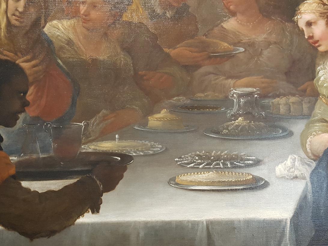 Bruiloft van Kana door Luca Giordano, 17e eeuw, Vicenza