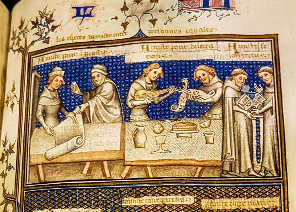 Aan tafel bij Maria van Gelre