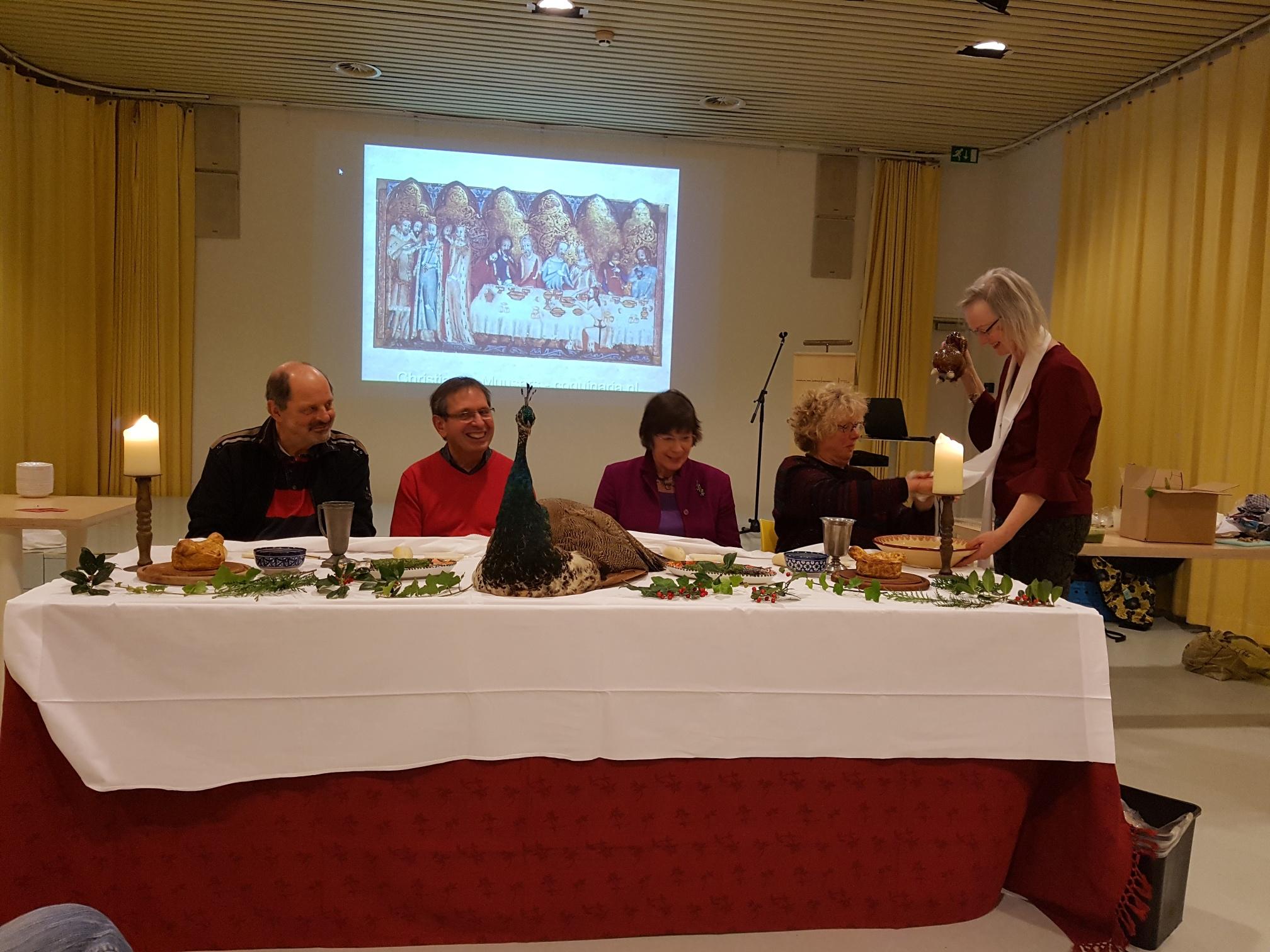 Aan tafel met Christianne Muusers