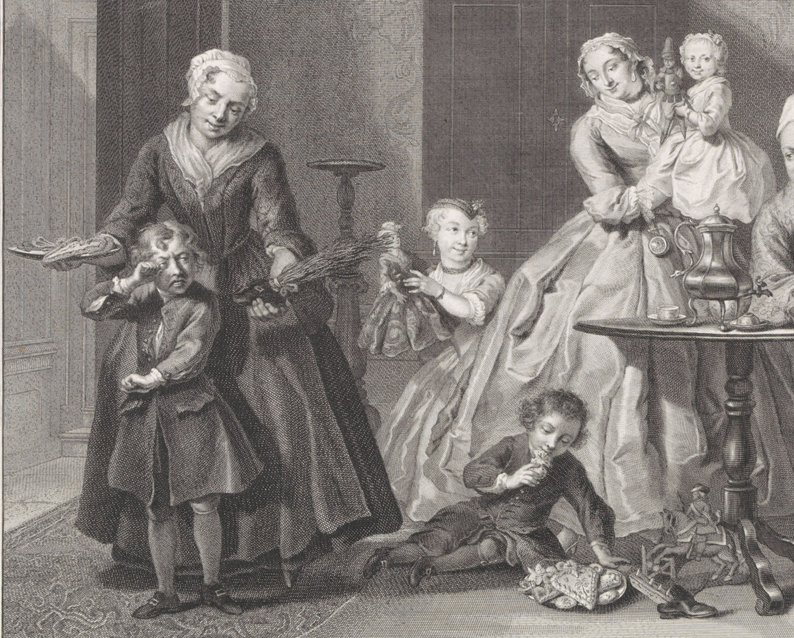 Sint Nicolaasfeest, Jacob Houbraken, 1761