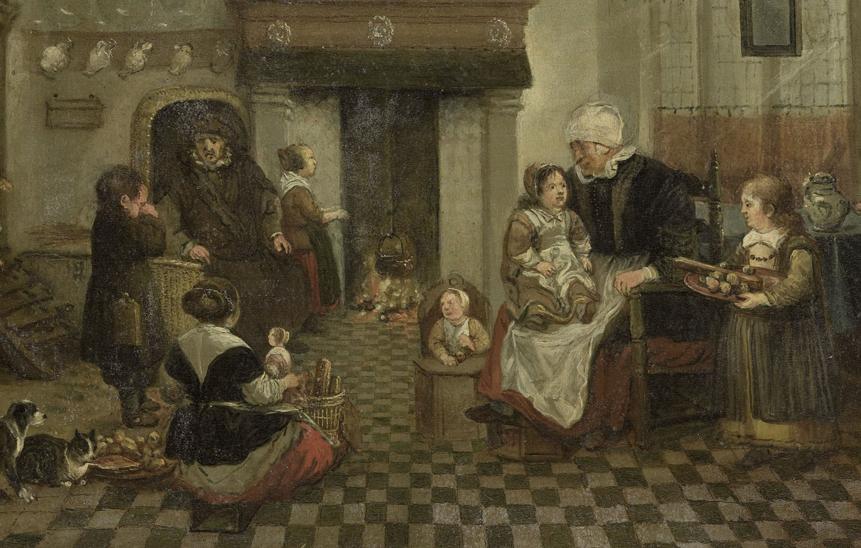 Sint Nicolaasfeest, anoniem, 1700-1899
