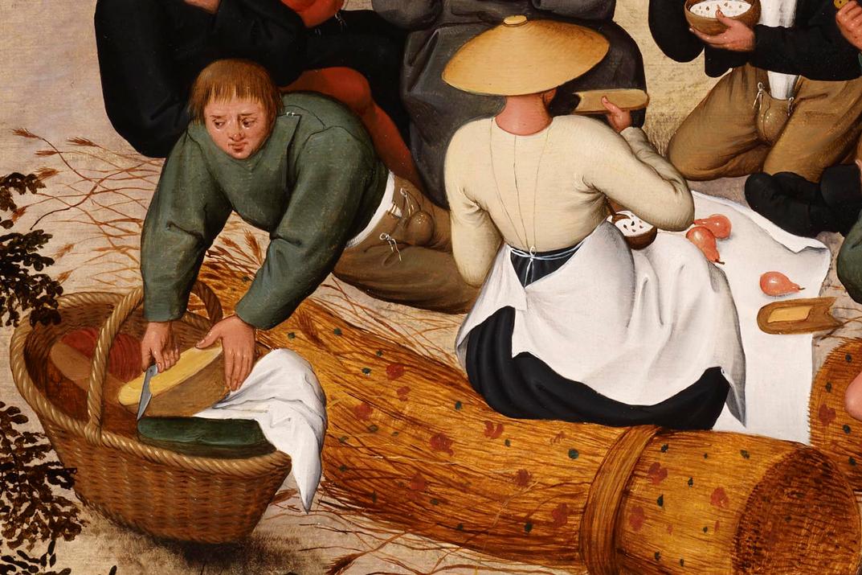 Zomer, Pieter Brueghel, ca 1600, privécollectie