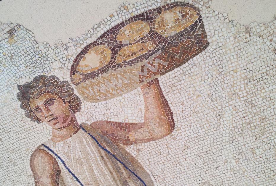 Roman mosaic Louvre Lens
