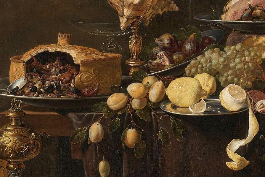 Adriaen van Utrecht, Pronkstilleven, 1644, Rijksmuseum
