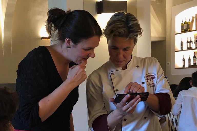Chef Michela Bottasso toont haar historische kookkunst