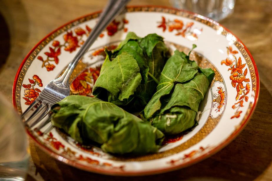 Koken met vijgenblad uit de tuin