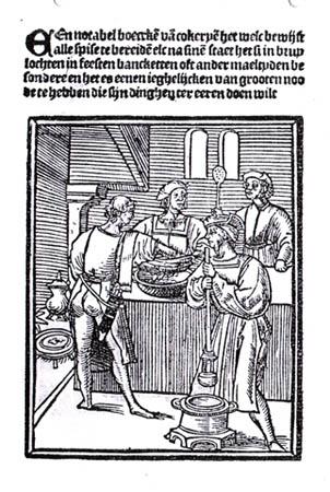 Titelblad van Een notabel boecxken van cokeryen