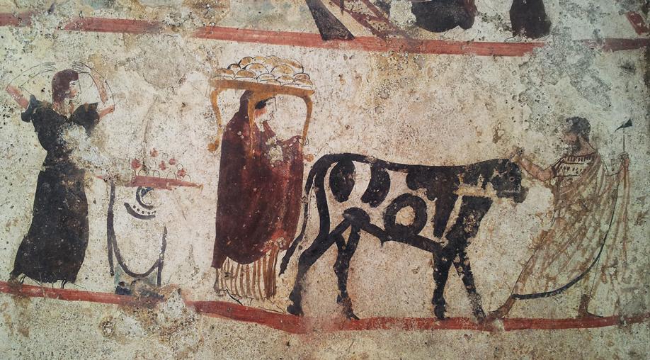 Etrusken in Paestum