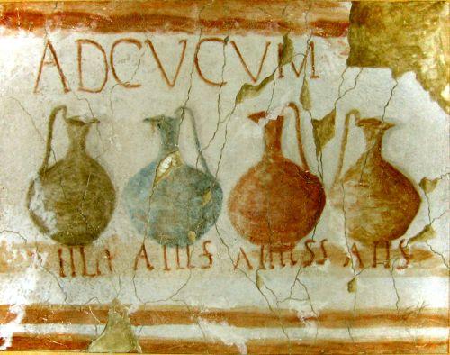 Thermopolium uit Herculaneum, Italië