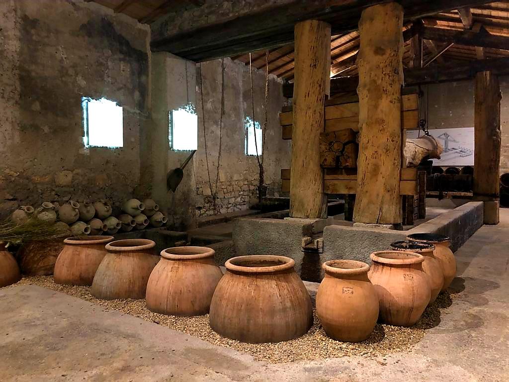 Romeinse wijnboerderij Mas de Tourelles