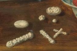 Osias Beert, Stilleven met suikergoed, 17e eeuw