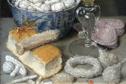 Stilleven met suikergoed, 17e eeuw