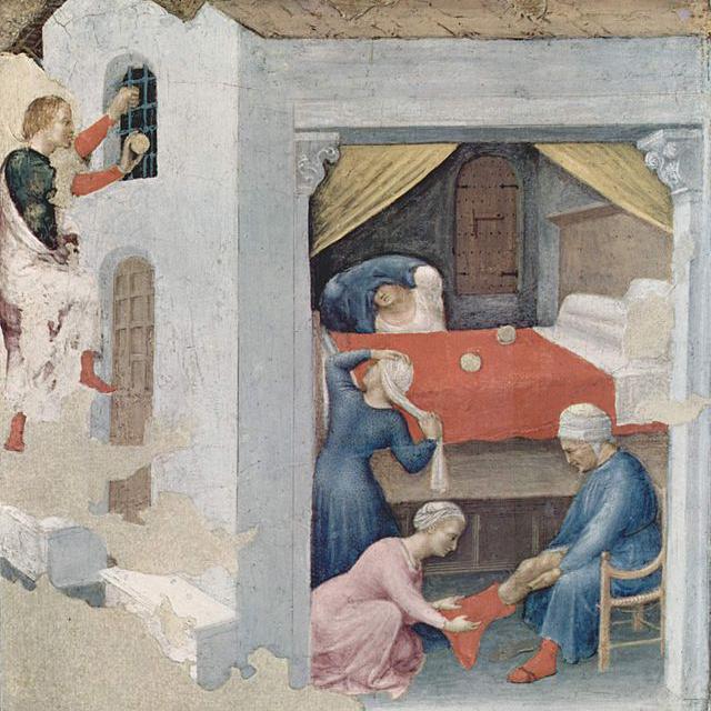 Gentile da Fabriano, Sint Nicolaas (ca. 1425)