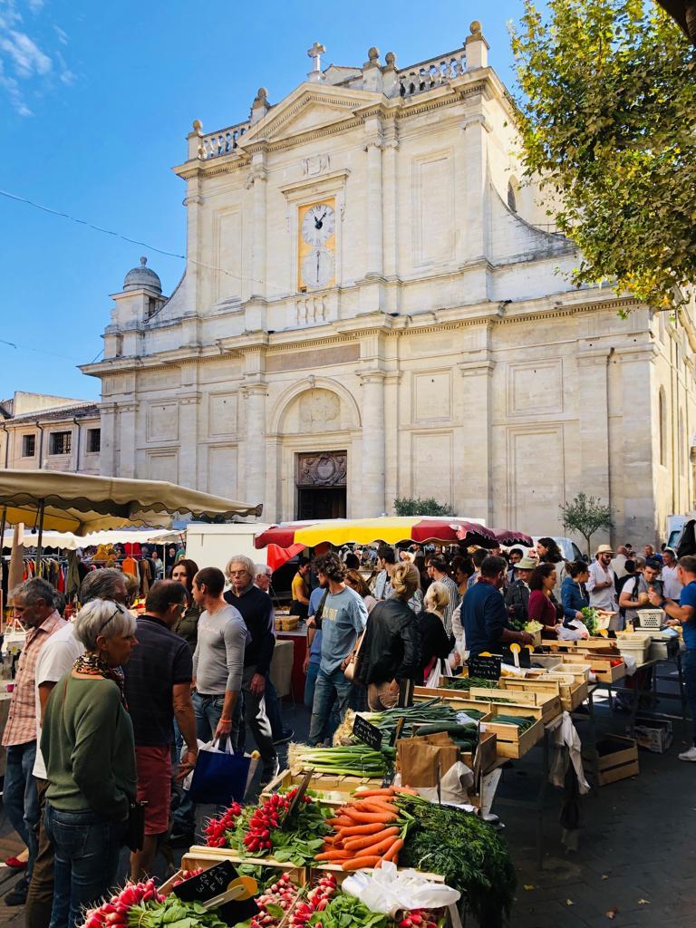 Markt in de Provence