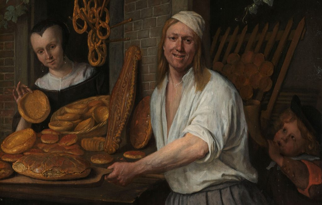 Jan Steen, Bakker, Rijksmuseum