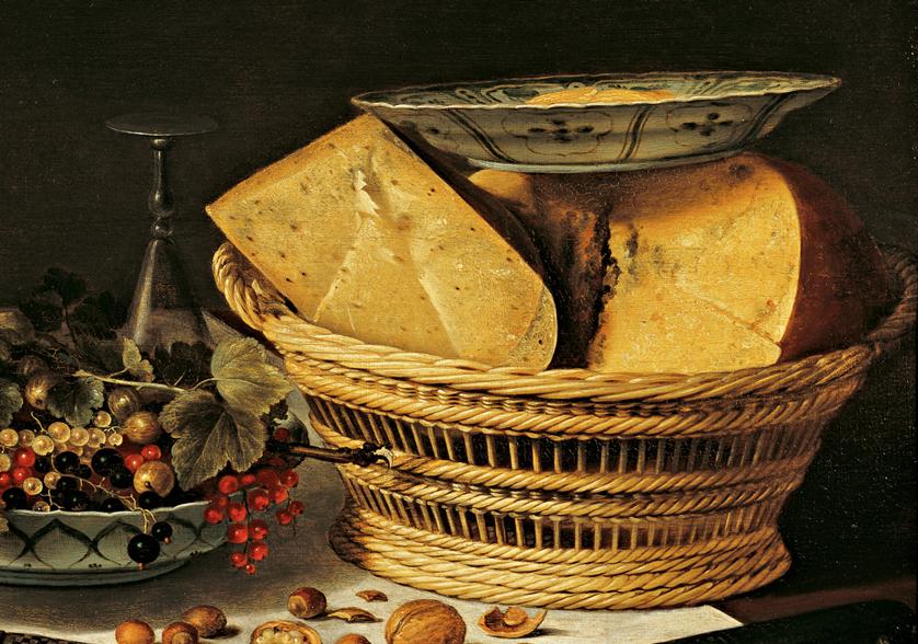 Banketje met kaas en vruchten, Pieter Claesz, 1623, Frans Hals Museum