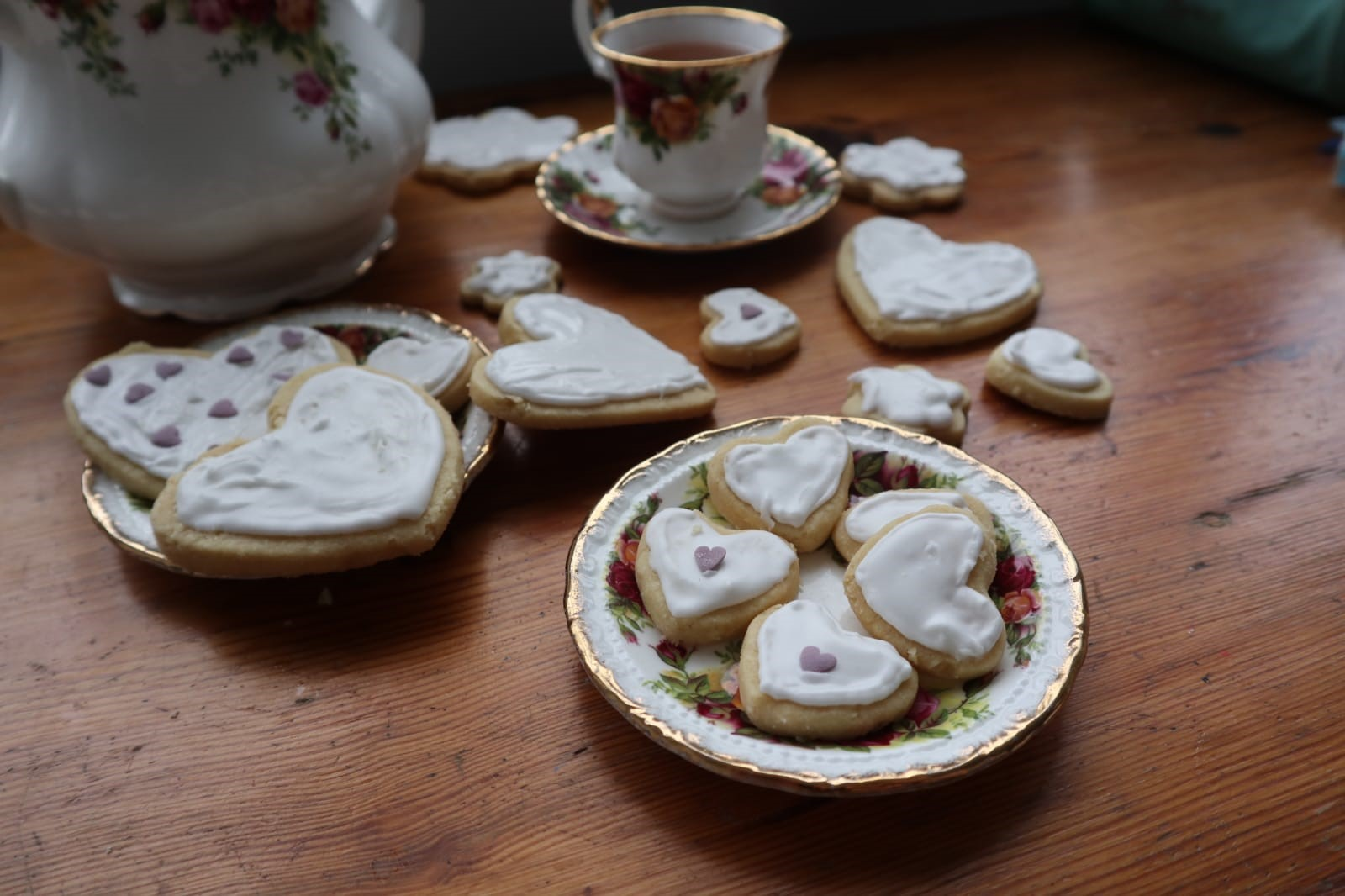 Shortbread with Royal Icing