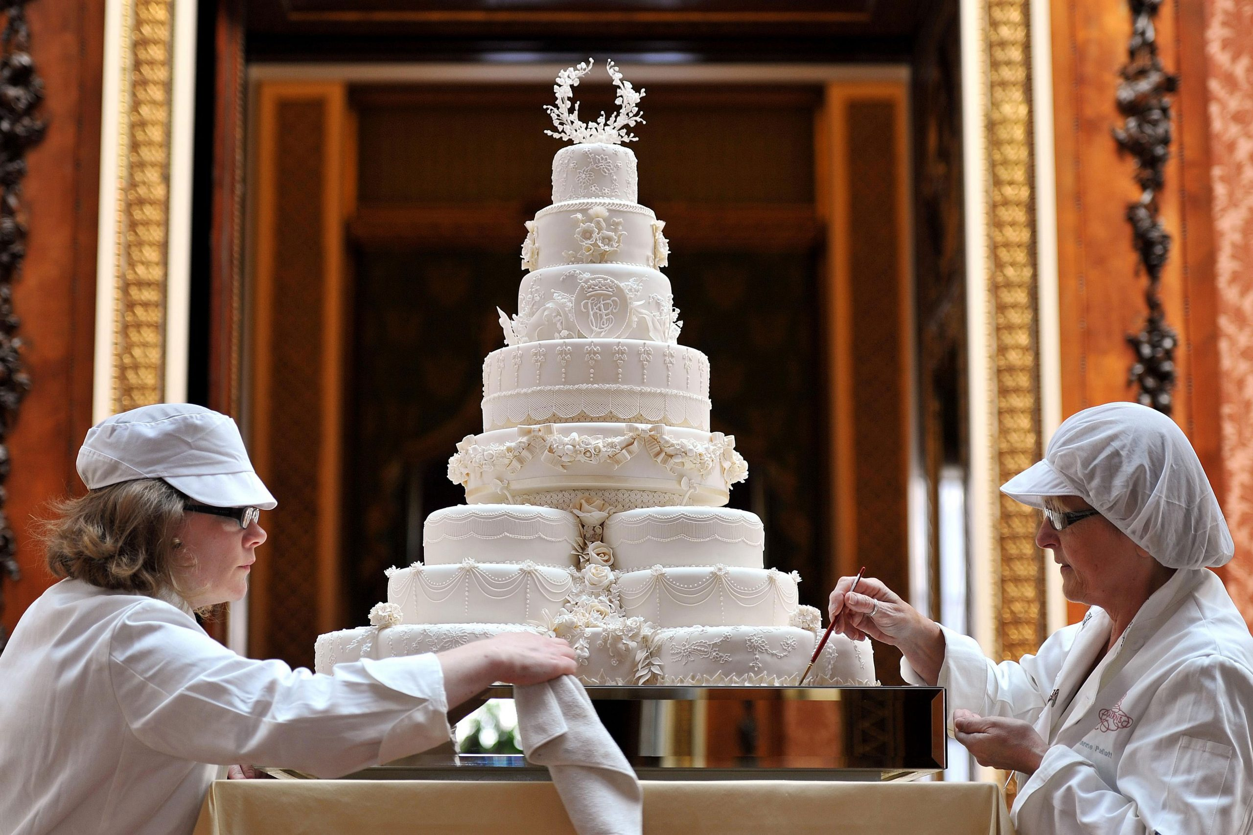 Wedding cake Prince William and Catherine Middleton