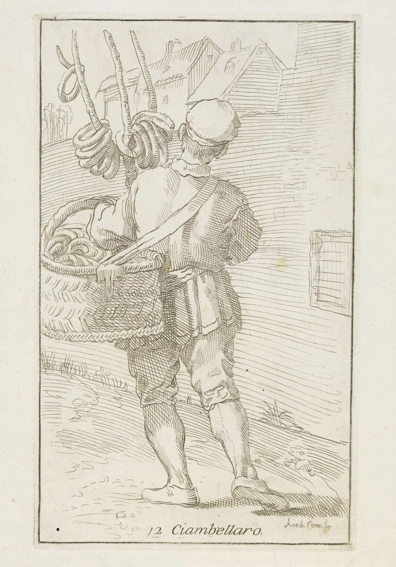 Ciambellaro door Annibale Carracci, 1646, Victoria & Albert Museum