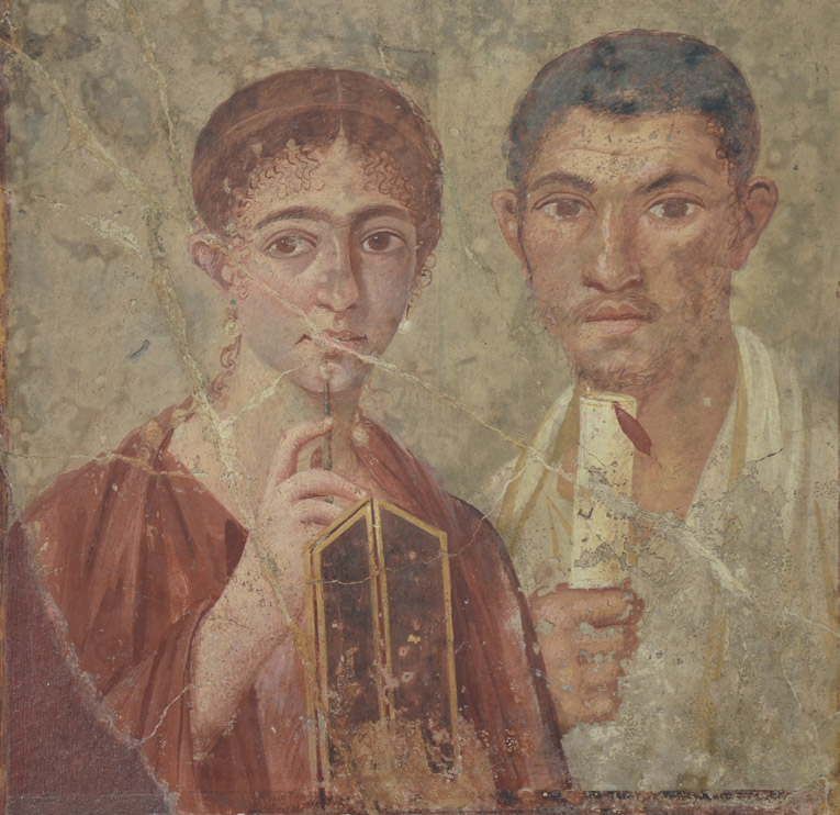 Terentius Neo, Pompeii, National Archaeological Museum, Napels