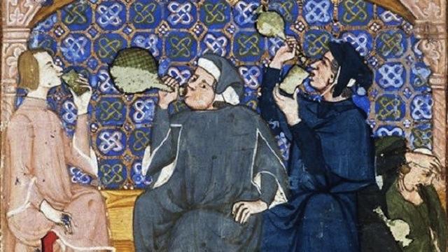 wijn in de middeleeuwen