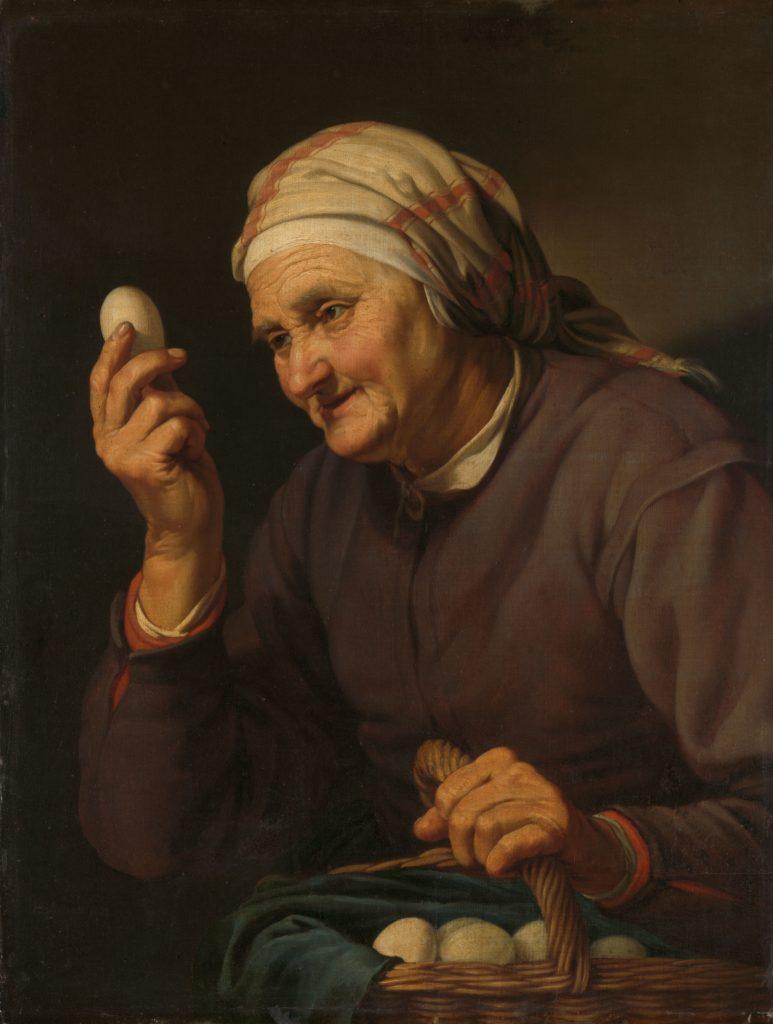 De eierenkoopvrouw, Hendrick Bloemaert, 1632, Rijksmuseum