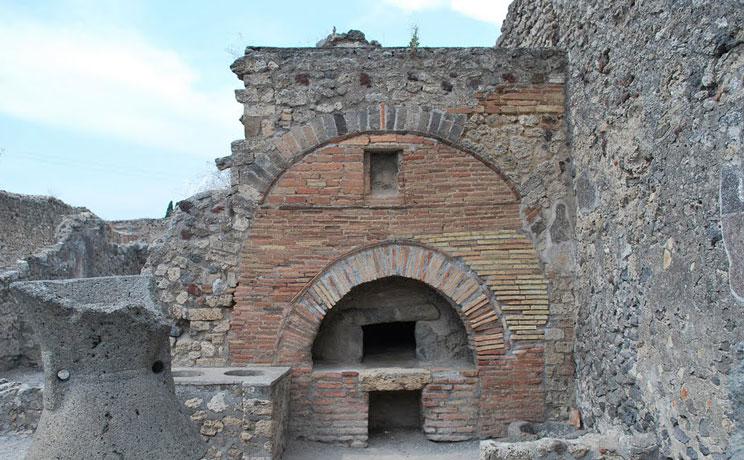 Romeinse houtoven Pompeii