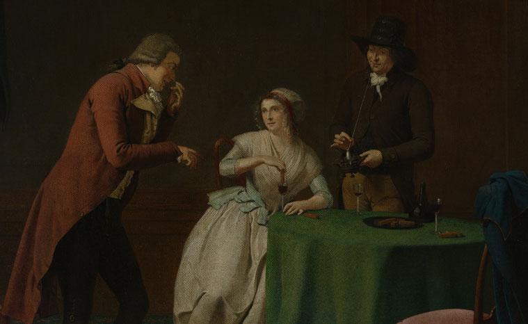 De geur, Jan Ekels de Jonge, 1791, Metropolitan Museum of Art