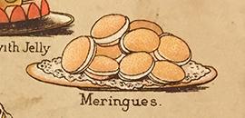 Meringues Mrs Beeton 19e eeuw